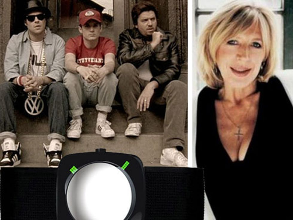 Marianne Faithfull on New Year's Eve + Adam Yauch's Beastie Boys Movie in Today's Eight Items or Less