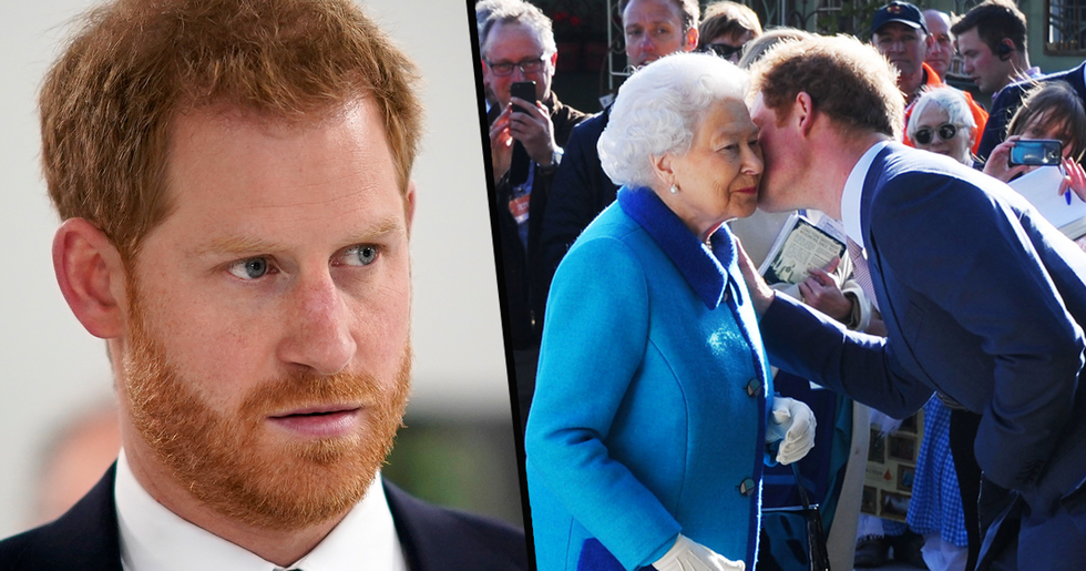 Prince Harry Had Awkward Conversation With the Queen About Changing His Name