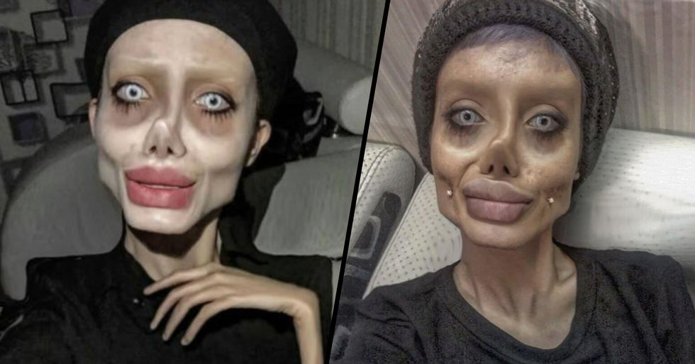 'Zombie Angelina Jolie' on Ventilator in Prison After Being Diagnosed With Coronavirus