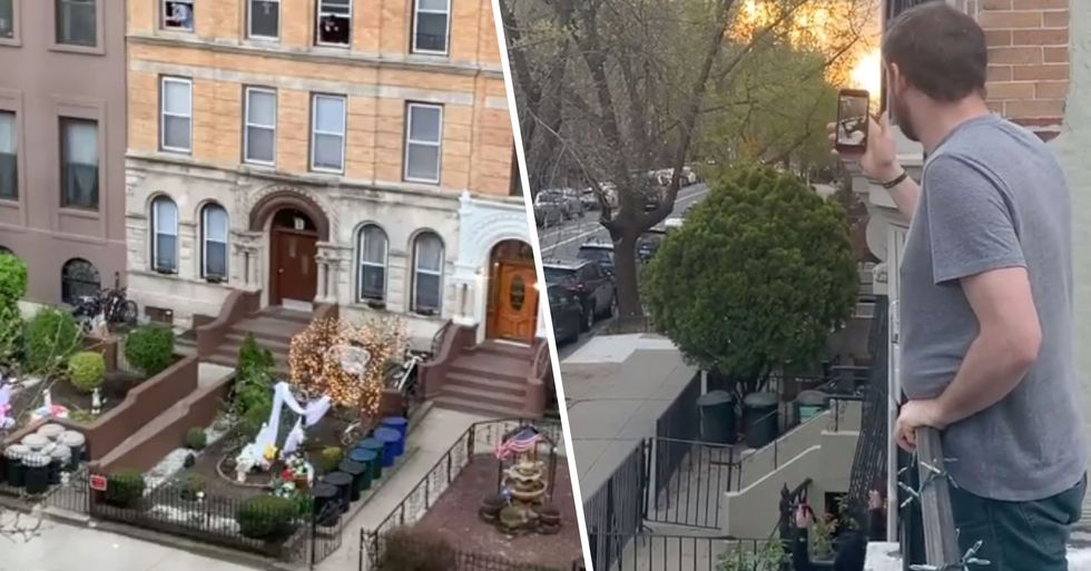 People Across NYC Lovingly Belt out 'New York, New York' From Their Windows