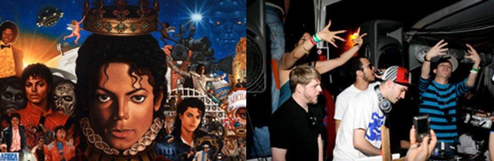 Michael Jackson's Giant Step Party + The Rub on New Year's in Today's Eight Items or Less