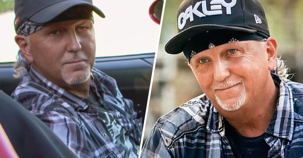 Picture Surfaces of Jeff Lowe Without a Hat and Bandana on and Answers a Lot of Questions