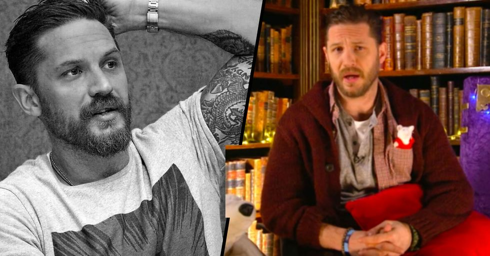 Tom Hardy Is Going to Read Bedtime Stories on Children's TV and It's Not Just the Kids Who Are Excited