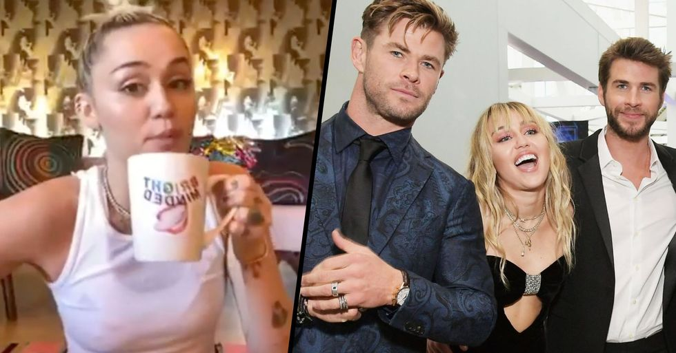 Miley Cyrus Responds to Chris Hemsworth Throwing Shade at Her Following Liam Split