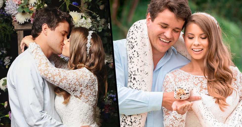 Bindi Irwin Opens up About the Heartbreak of Her Dad Not Being at Her Wedding