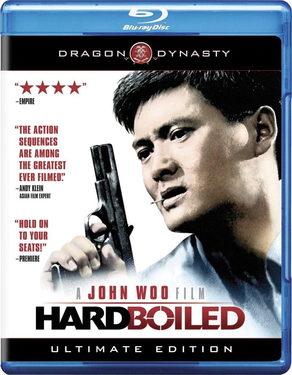 John Woo's Hard Boiled On Blu-ray