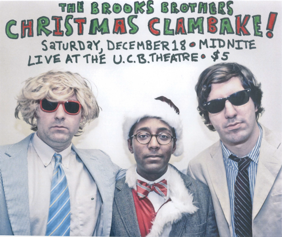 Clam It Up With The Brooks Brothers This Saturday