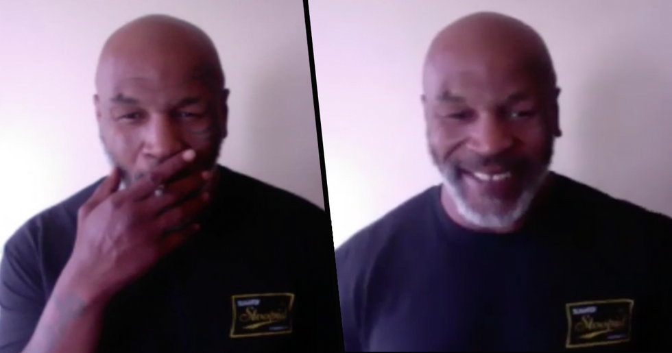 Mike Tyson Celebrates 4/20 With a Wake and Bake and Has Never Looked Happier