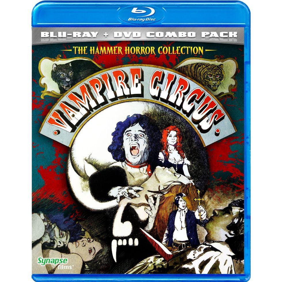 Vampire Circus On Blu-ray & DVD Combo