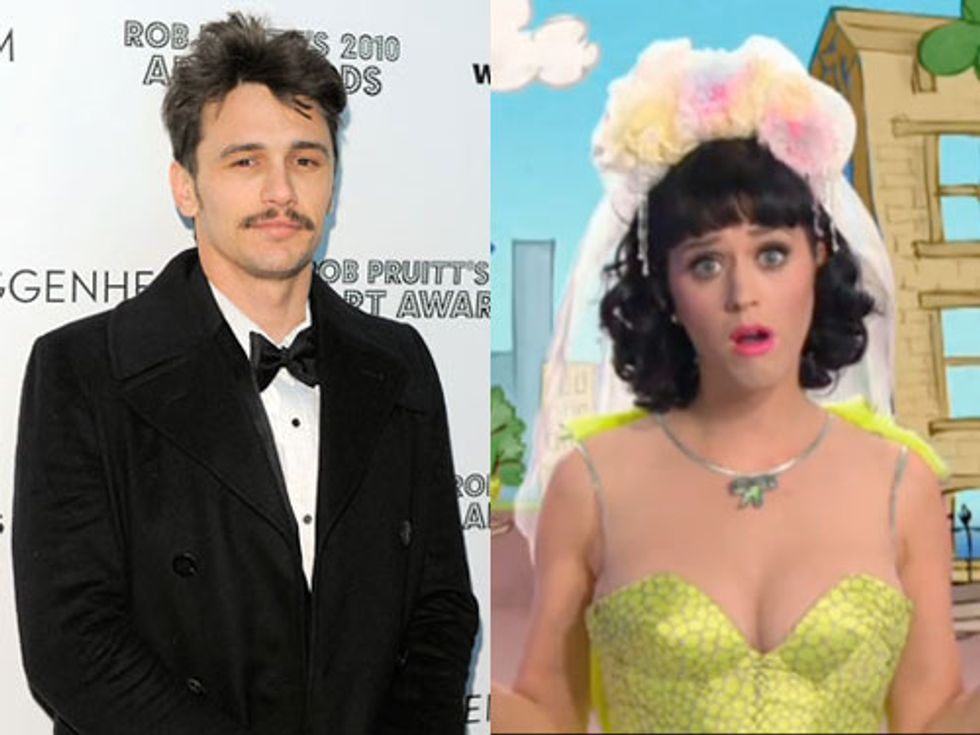 James Franco's First Solo Art Show + The Top 20 Viral Music Videos in Today's Eight Items or Less