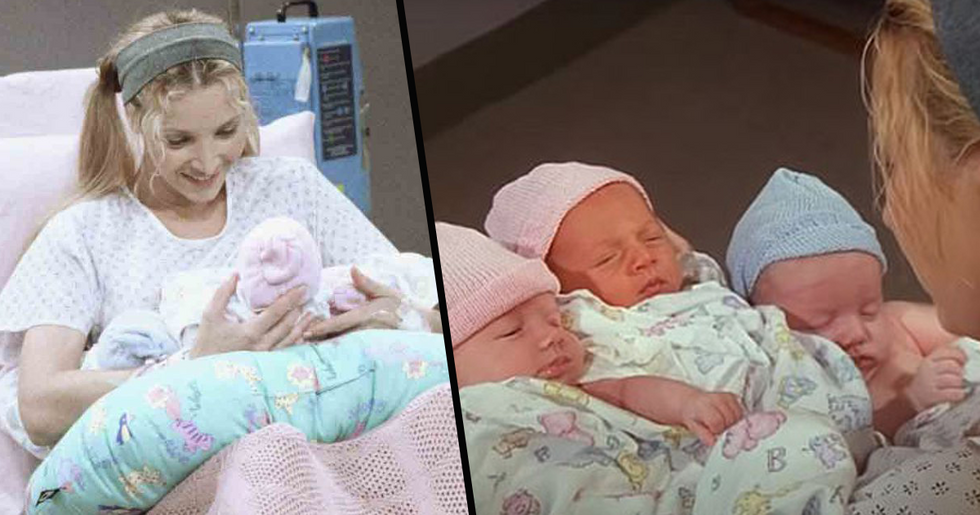 Girl Who Played One of Phoebe's Triplets in Friends Is Now a TikTok Star