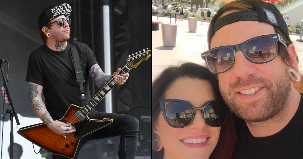 'Falling in Reverse' Guitarist Derek Jones Dies Aged 35