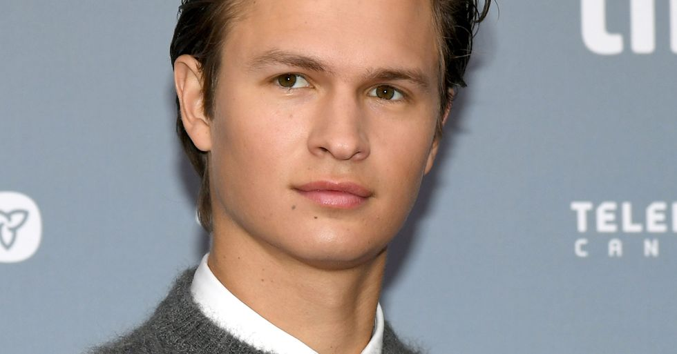 Ansel Elgort Bares All in New Photo to Raise Money for Hospitals