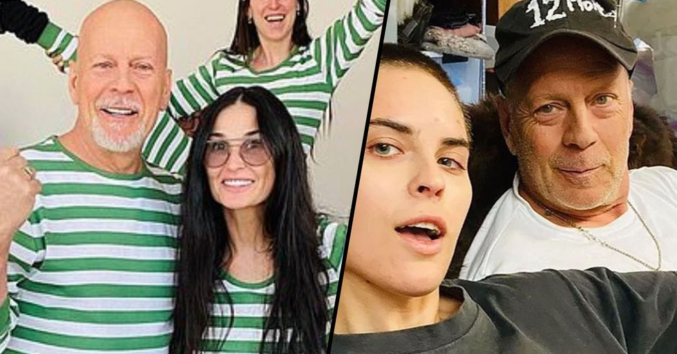 Bruce Willis' Daughter Finally Explains Why Her Dad Is Isolating With Ex Demi Moore