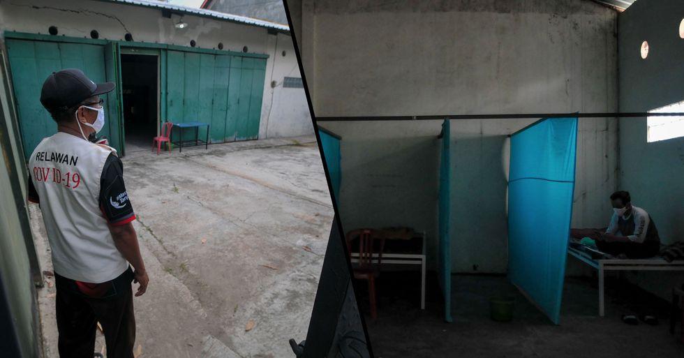 Quarantine Violators Sent to 'Haunted House' as Punishment