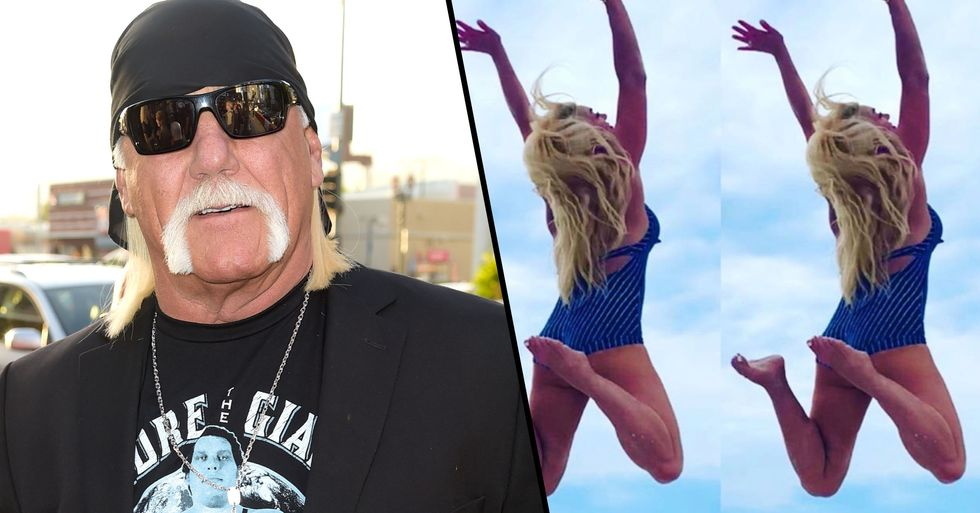 Hulk Hogan Responds to Outrage Over Controversial Picture of His Wife