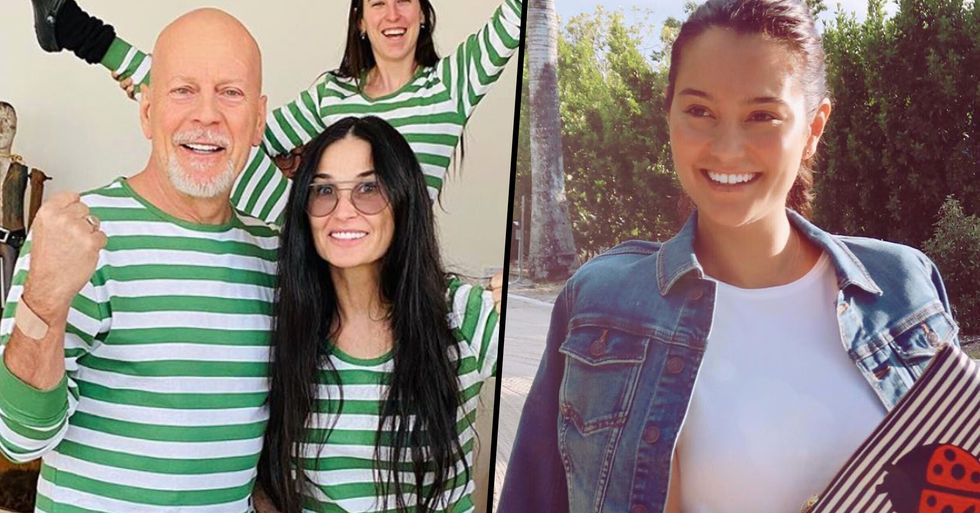 Bruce Willis' Wife Sends Him a Message as He Continues to Isolate With His Ex Demi Moore