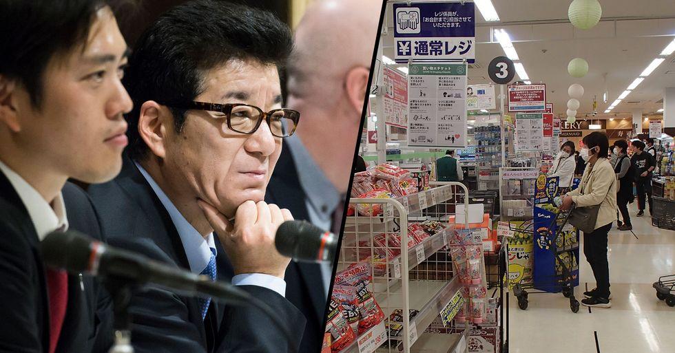 Japanese Mayor Says Men Should Do Grocery Shopping During Pandemic as Women Take Too Long