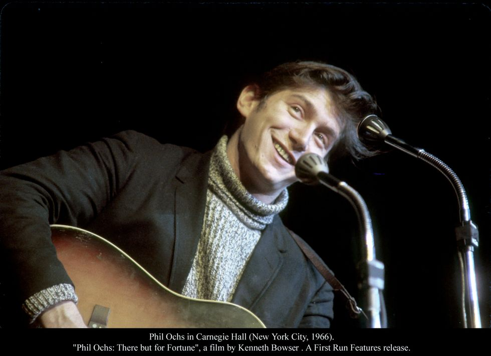 Phil Ochs: There But For Fortune In Theaters This Week