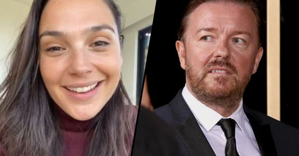 Ricky Gervais Takes Another Swipe at Celebs in Scathing Rant at 'Fame-Hungry' Imagine Stars