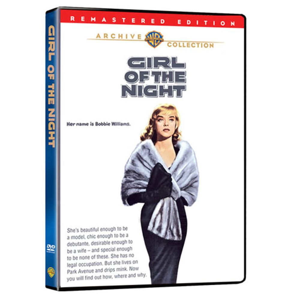 Anne Francis In Girl Of The Night On Warner Archive DVD