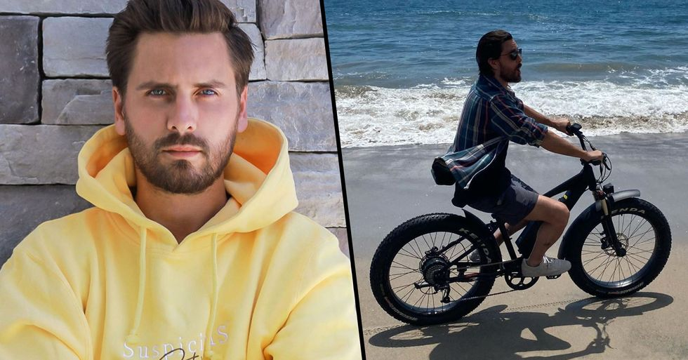 Scott Disick Slammed for Controversial Earth Day Post