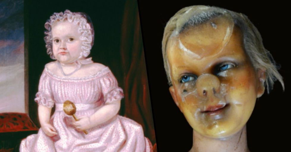 Museums Are Posting Their Creepiest Objects On Twitter And They're Terrifying