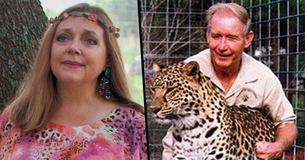'Tiger King' Star Carole Baskin's Missing Husband 'Strangled and Thrown From Plane'