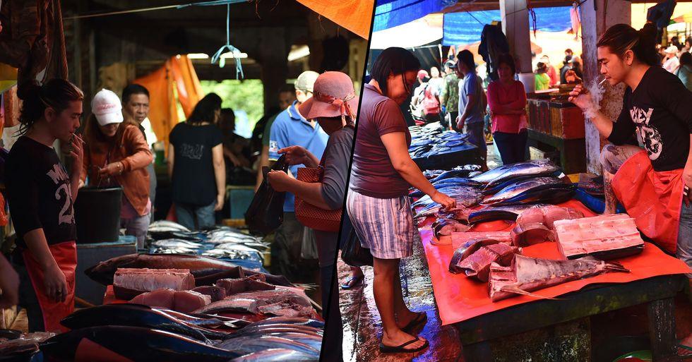 Notorious Indonesian Wet Market Is Still Open Despite Coronavirus Fears