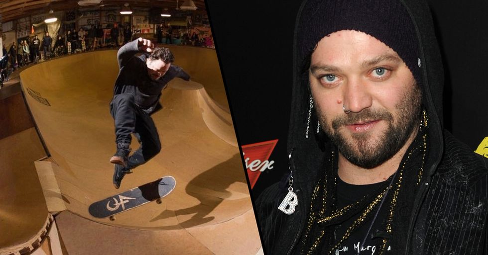 Bam Margera Gave out the Door Code to His Private Skate Park on Instagram, Hundreds Showed up to Use It
