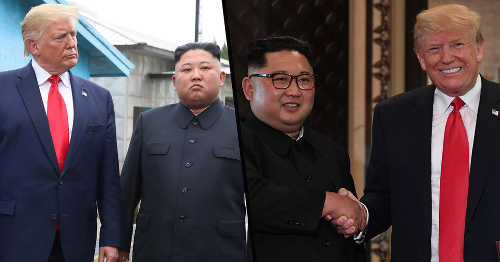 Donald Trump Says He Knows How Kim Jong-Un Is but 'Can't Talk About It'