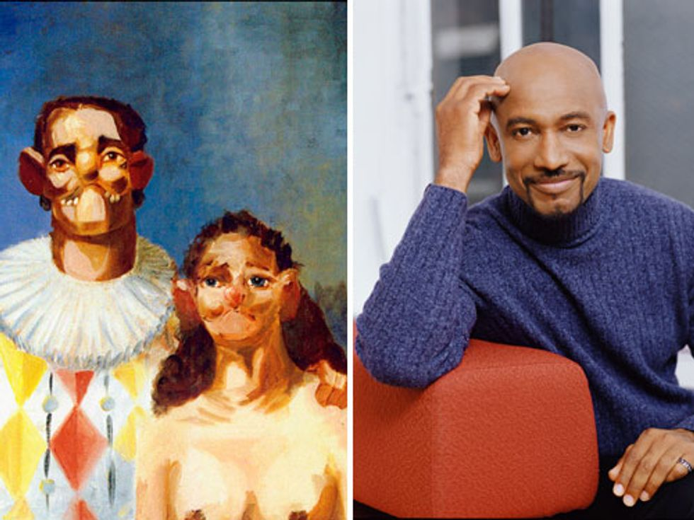 George Condo at the New Museum + Montel Arrested in Today's Eight Items or Less