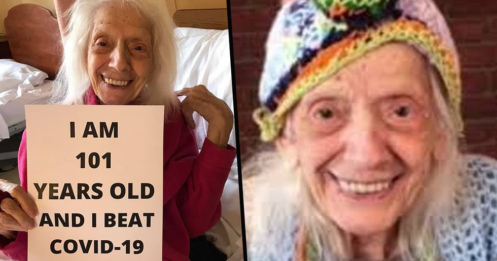 101-Year-Old Woman Survives Spanish Flu, Cancer, and Now Coronavirus