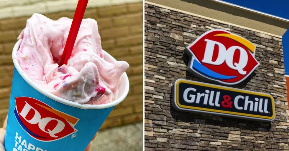 Dairy Queen Just Released an Animal Cookie Blizzard That's Mixed With Pink Confetti Frosting