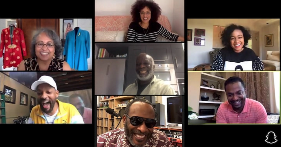'Fresh Prince of Bel Air' Cast Reunite on Will Smith's Snapchat Show