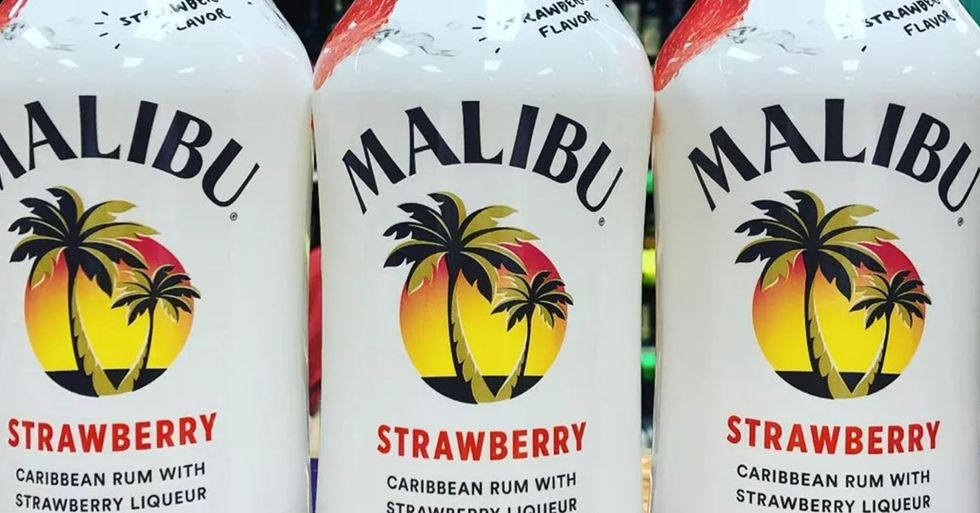 New Malibu Strawberry Rum Is The Drink Of The Summer