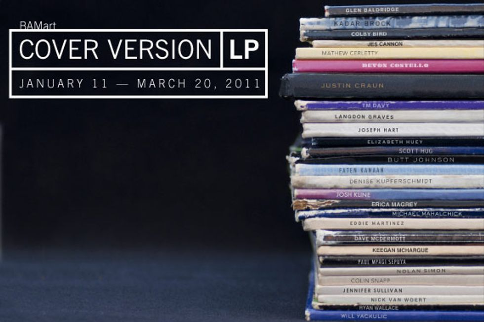 """Run for Cover: BAM's """"Cover Version LP"""" Opens Tonight."""