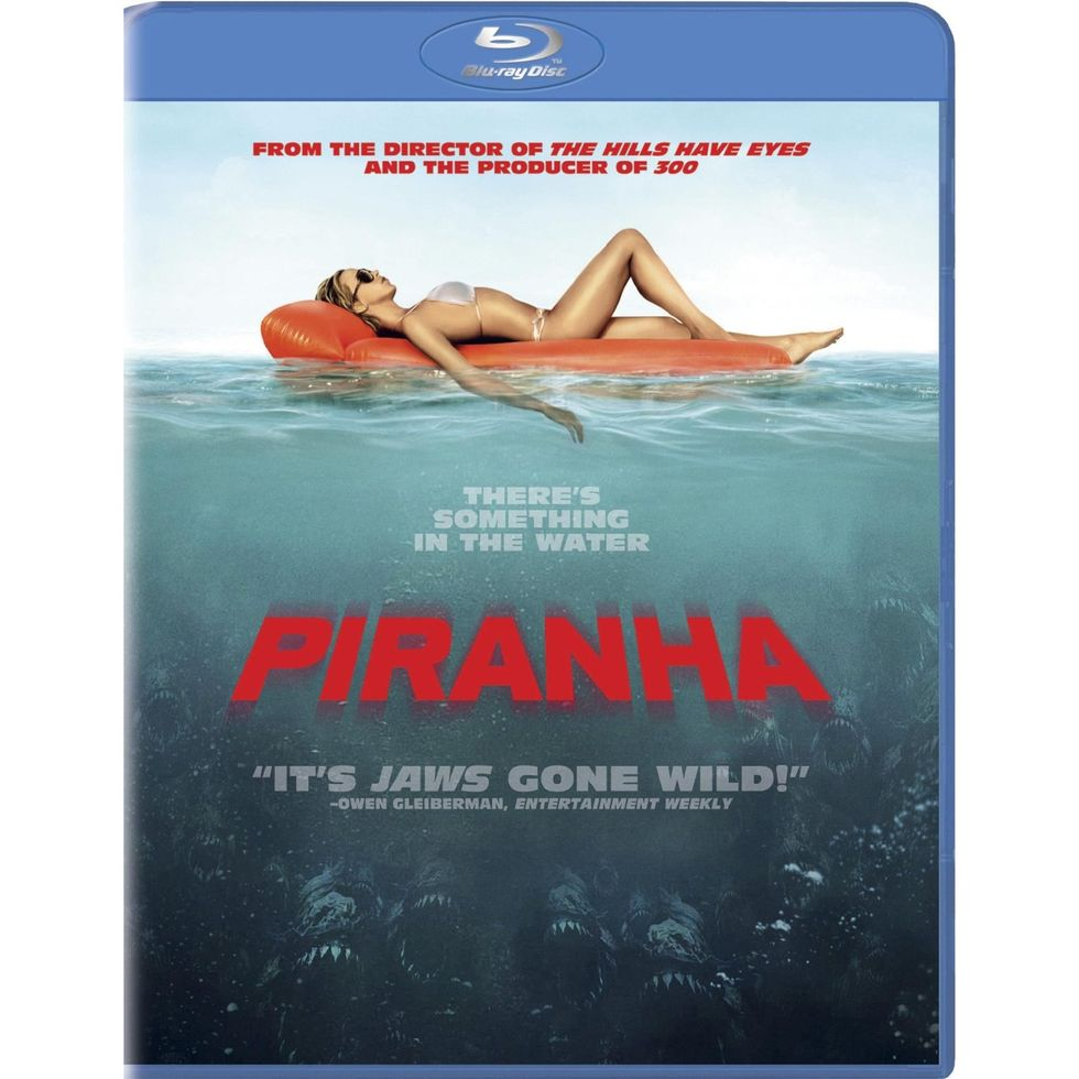 Grisly Fun: Piranha Out on DVD, Blu-ray & in 3D