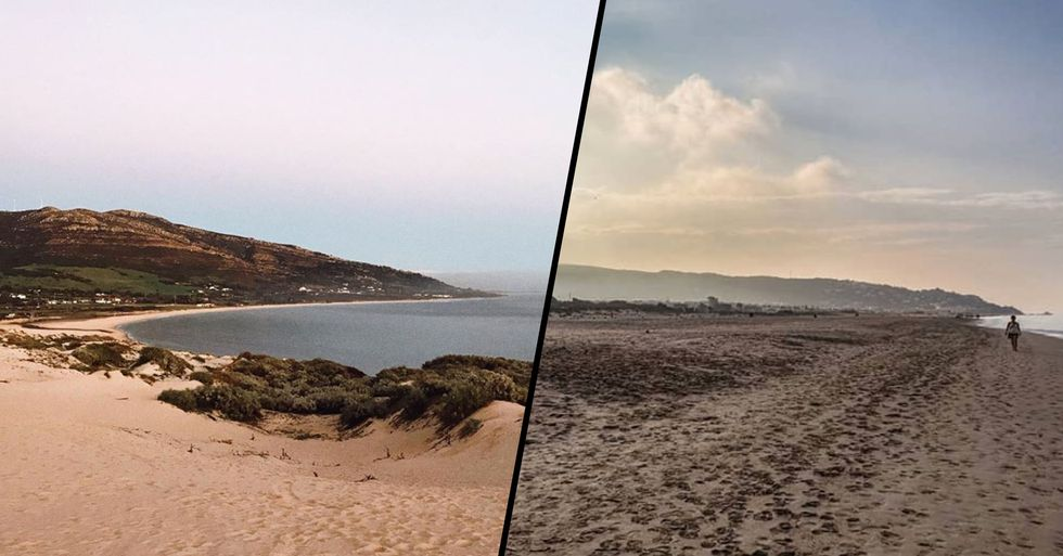 People Are Furious as Spanish Beach Is Sprayed With Bleach
