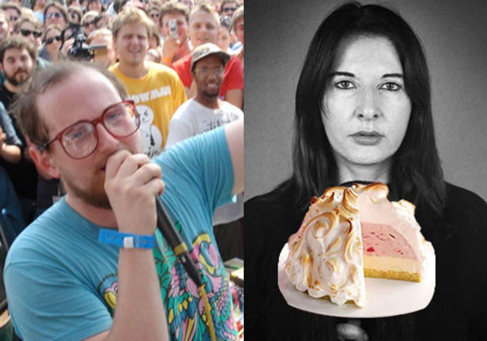 Dan Deacon Scores Coppola + Marina Abramovic: Dessert Chef in Today's Eight Items or Less