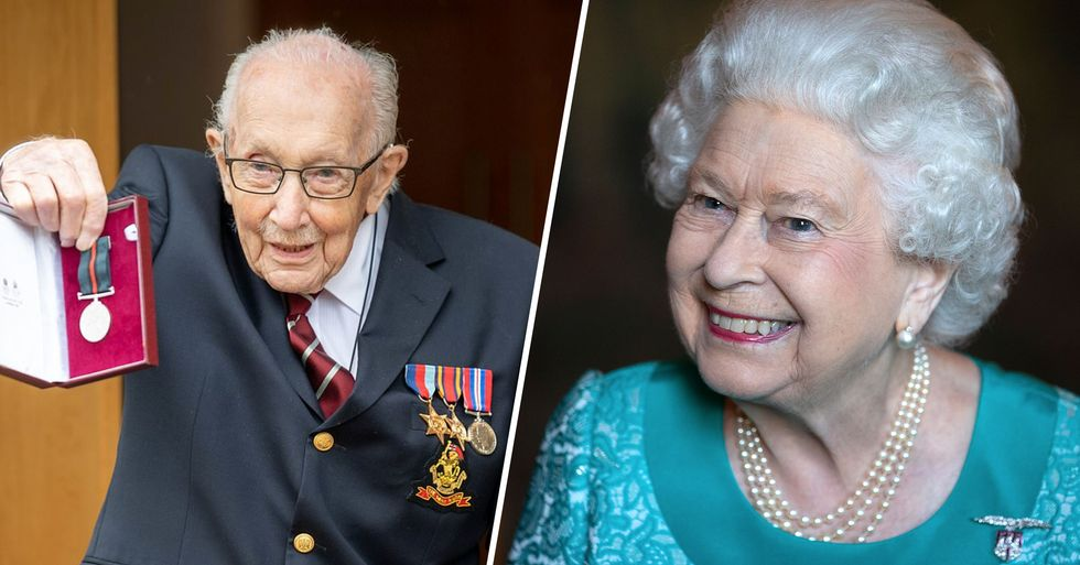 The Queen Promotes WWII Hero to Colonel on His 100th Birthday After He Raised $30 Million