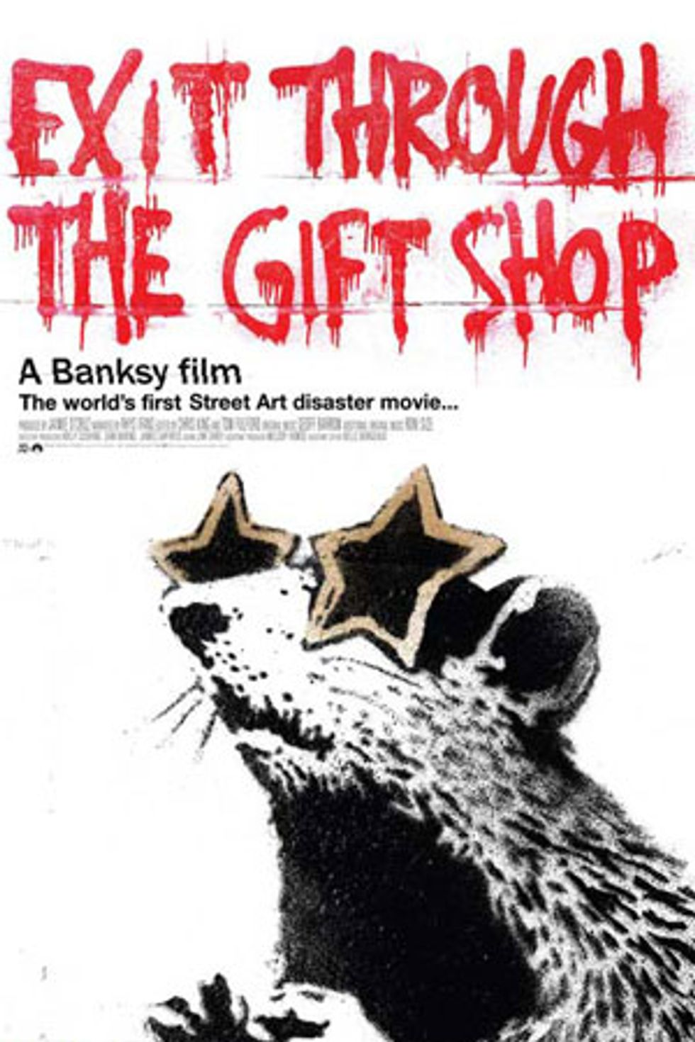 Tell Us What Your Street Artist Name Would Be and Win Banksy's Exit Through the Gift Shop