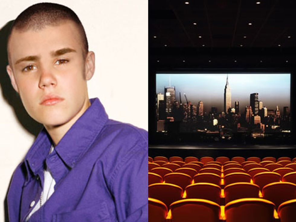 Justin Bieber's New Look + Movie Night at the Crosby Street Hotel in Today's Eight Items or Less