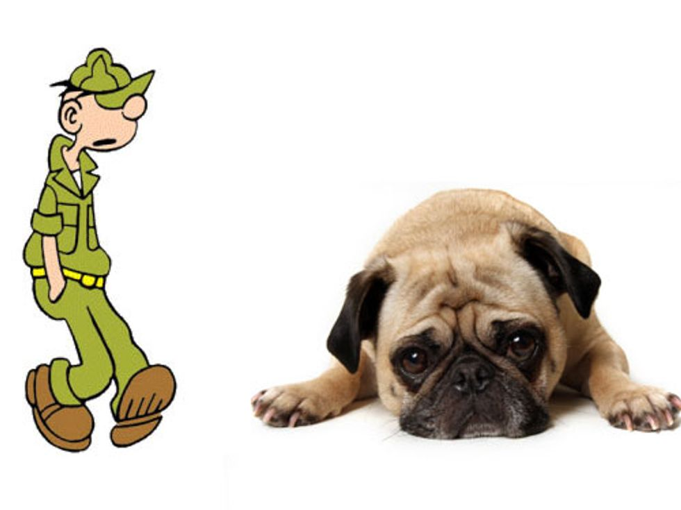 Beetle Bailey Fashion + It's the Saddest Day of the Year in Today's Eight Items or Less