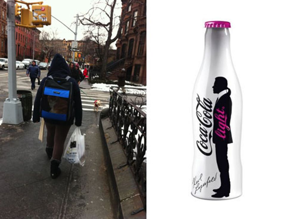 """""""Catpacks"""" Are Real Things + More Karl Lagerfeld Diet Coke in Today's Style Scraps"""