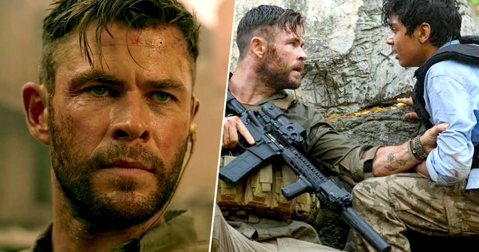 Chris Hemsworth Responds to Extraction's Bizarre Ending