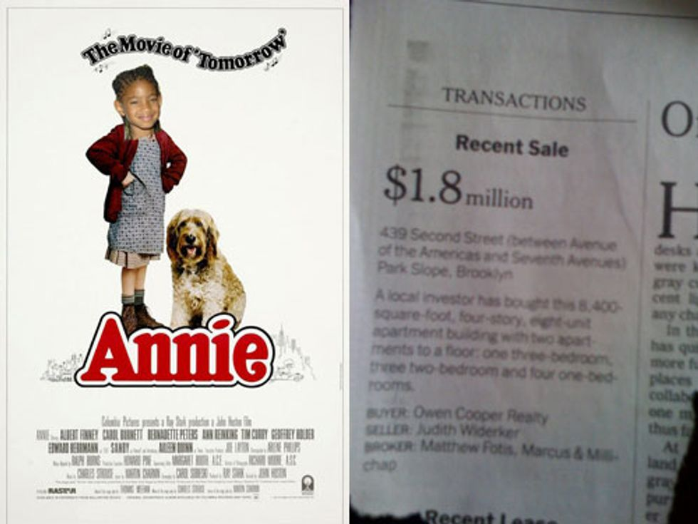 Willow Smith In Annie + Brooklyn Gets Ave. of the Americas in Today's Eight Items or Less