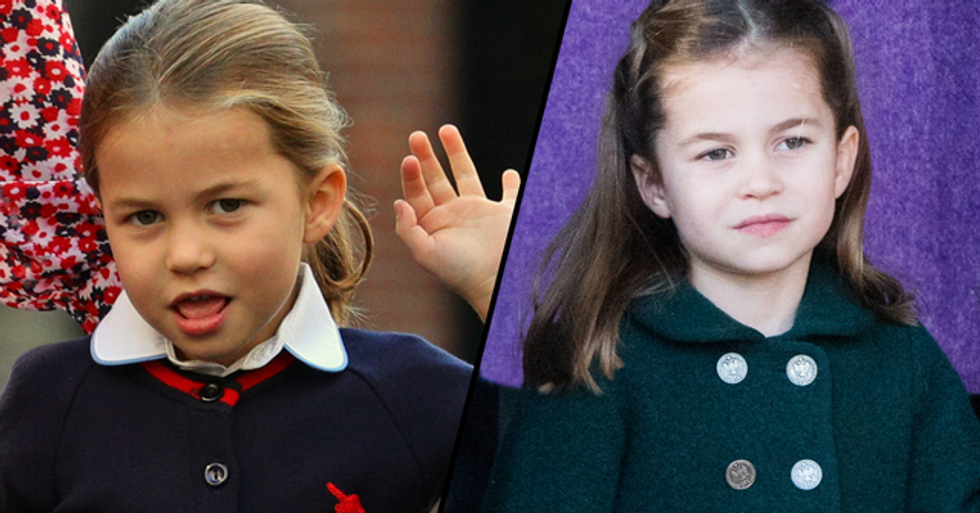 Sweet Photos Show Princess Charlotte Delivering Meals to the Elderly