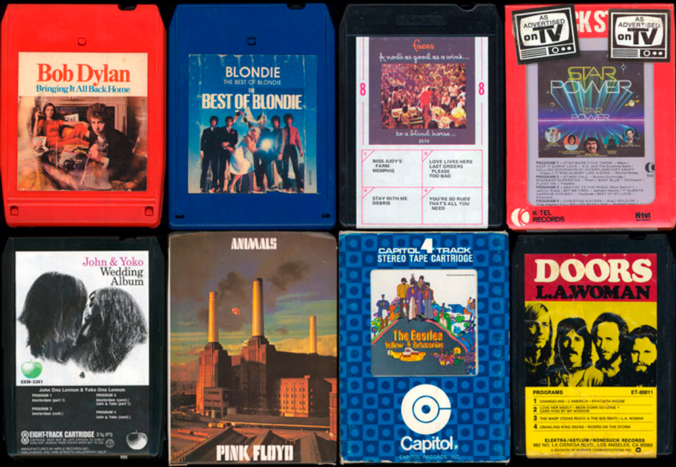 The Eight Track Museum & V-Day at NYU in Today's Eight Items or Less