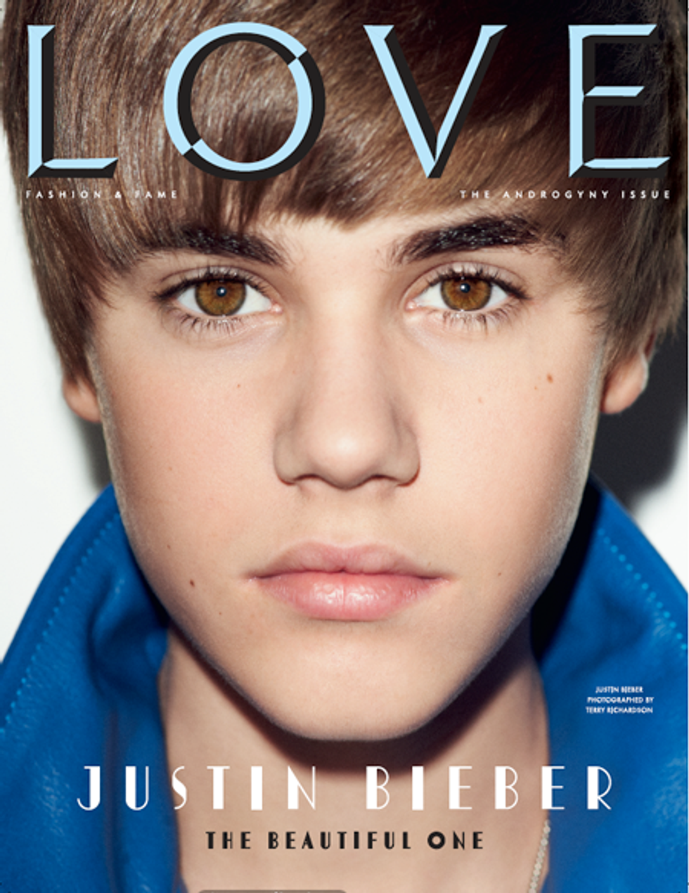 Justin Bieber Covers LOVE & Anna Wintour Fetes Nick Gruber in Today's Style Scraps